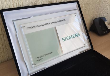 Payback é reconhecida pela Siemens com Integrador Safety